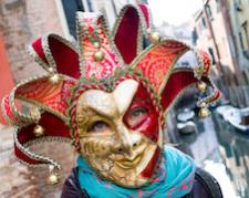Velencei karnevál ősi hagyománya