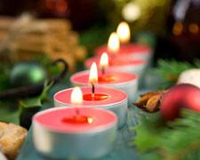 A karácsony sokszínű fényei